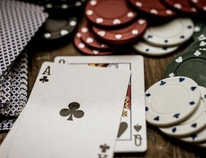 Playing AQ in Texas holdem poker